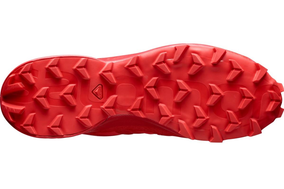 Semelle de la Speedcross5 rouge