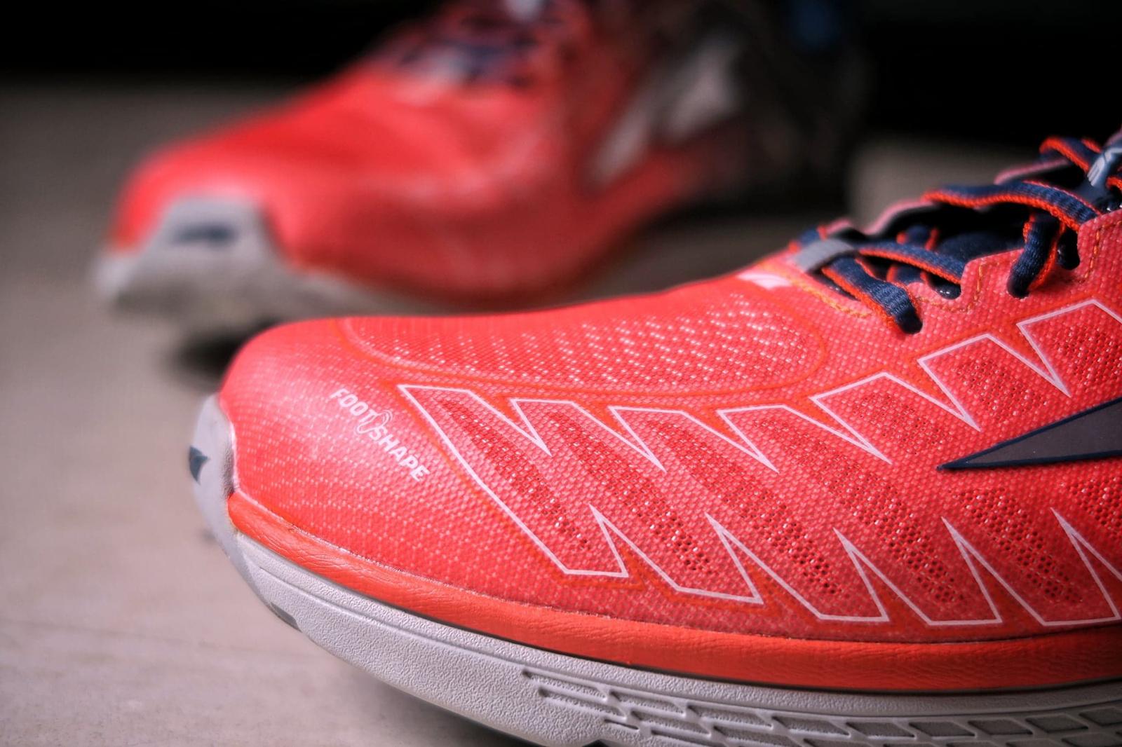 La footbox spécifique Altra