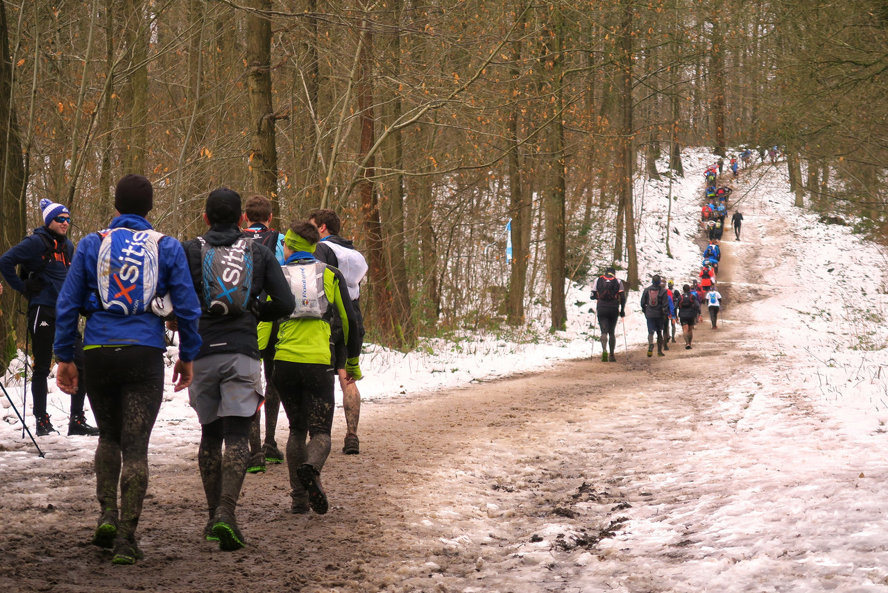 Avec les coureurs du 25km du Maxicross