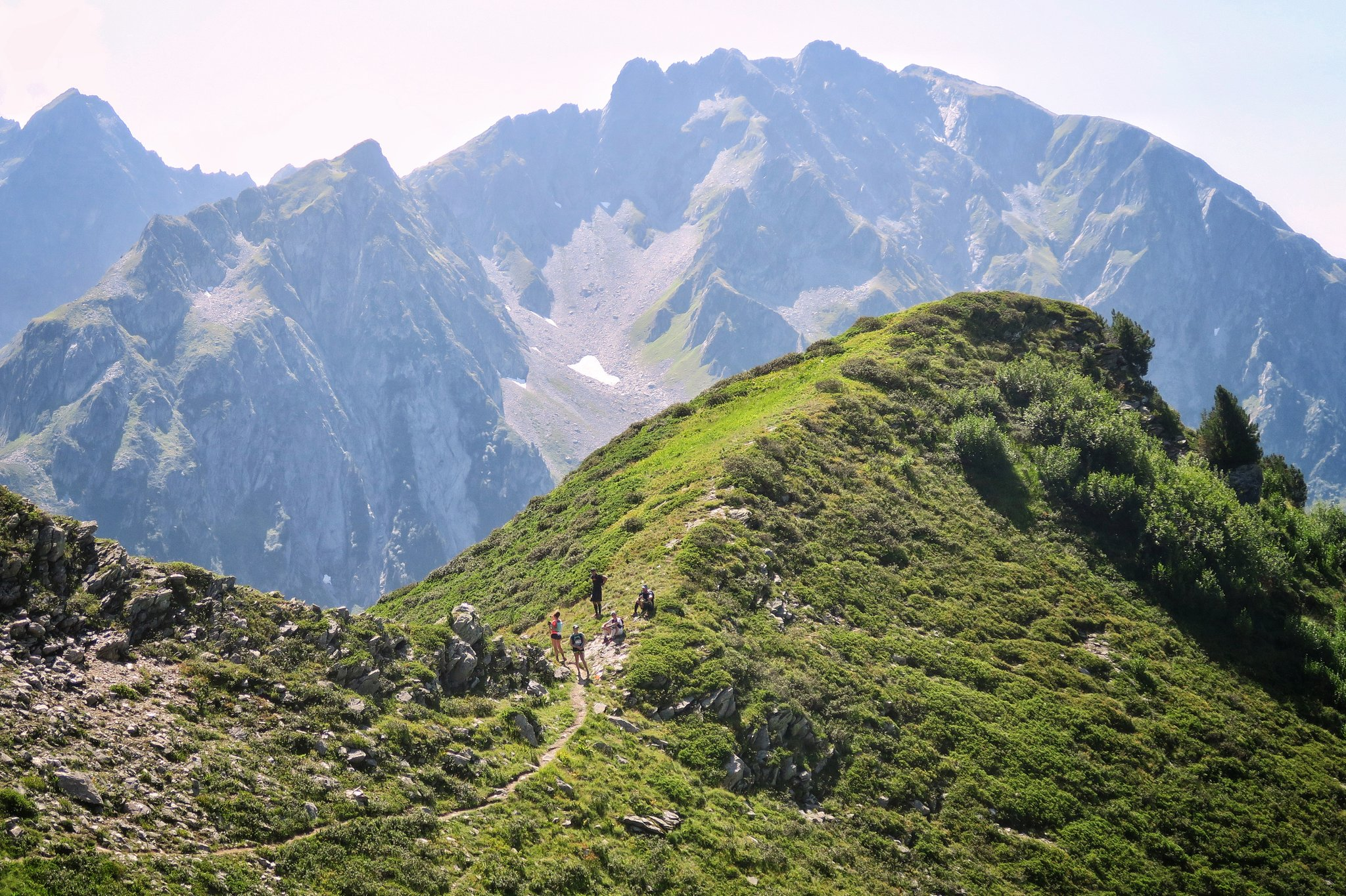 Montée Col d'Arpingon