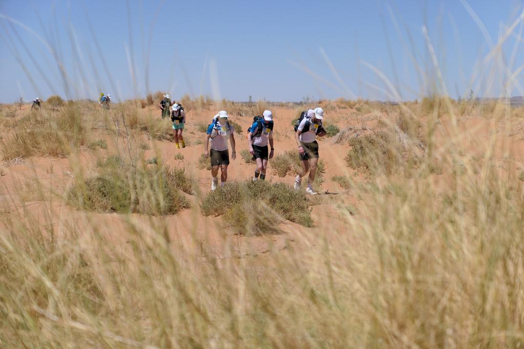 Jour 1 - On découvre le sable du désert