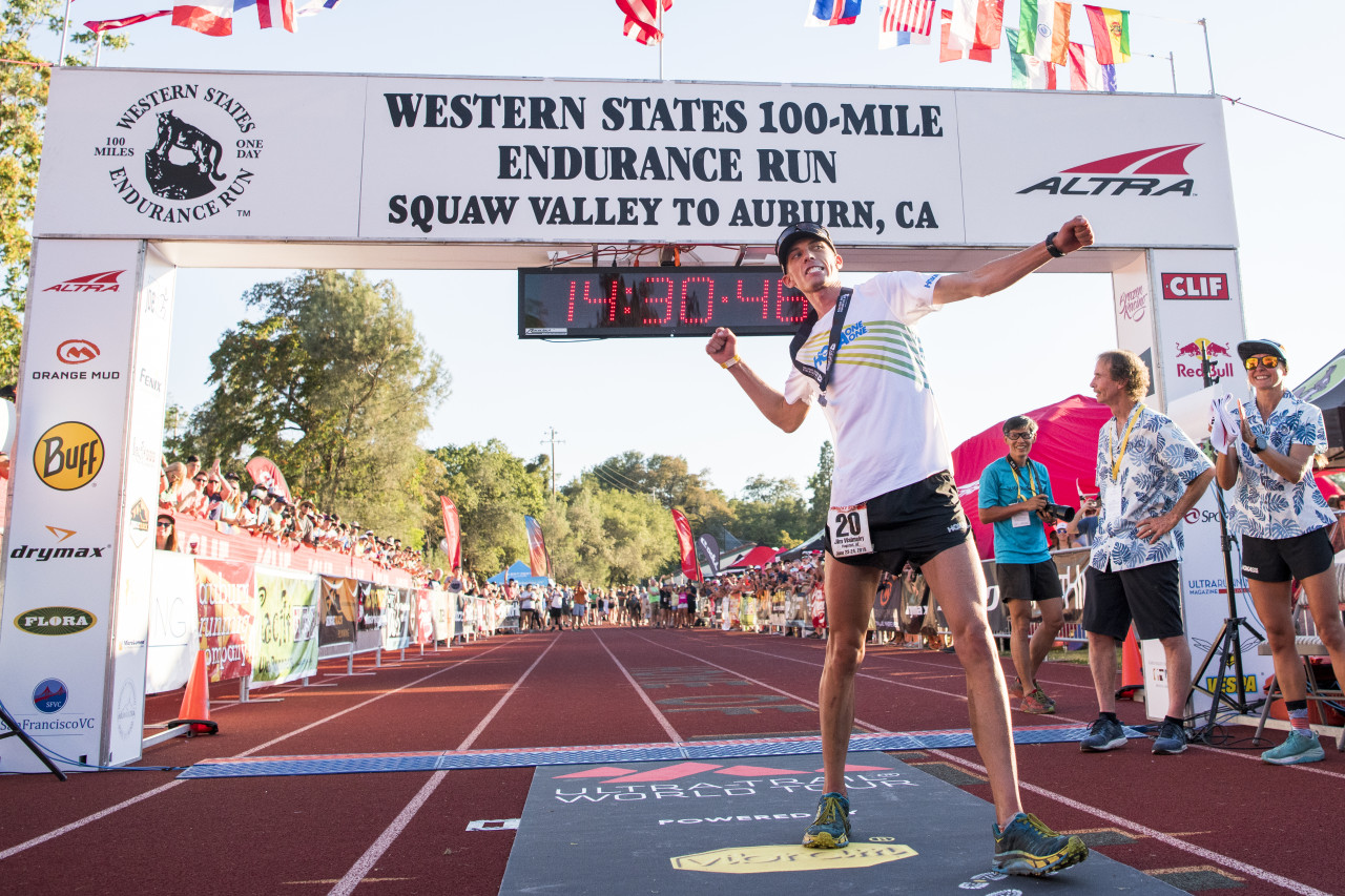 Jim wins the Western States Endurance Run