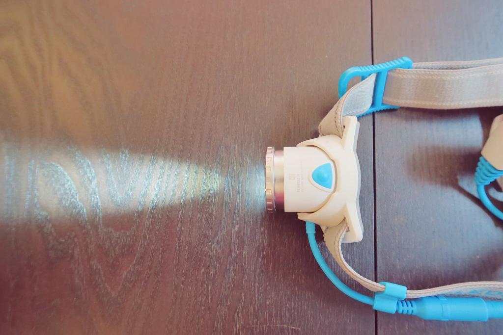 Le faisceau étroit accessible en tournant la bague à l'avant de l'optique