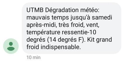 Kit Grand Froid UTMB!
