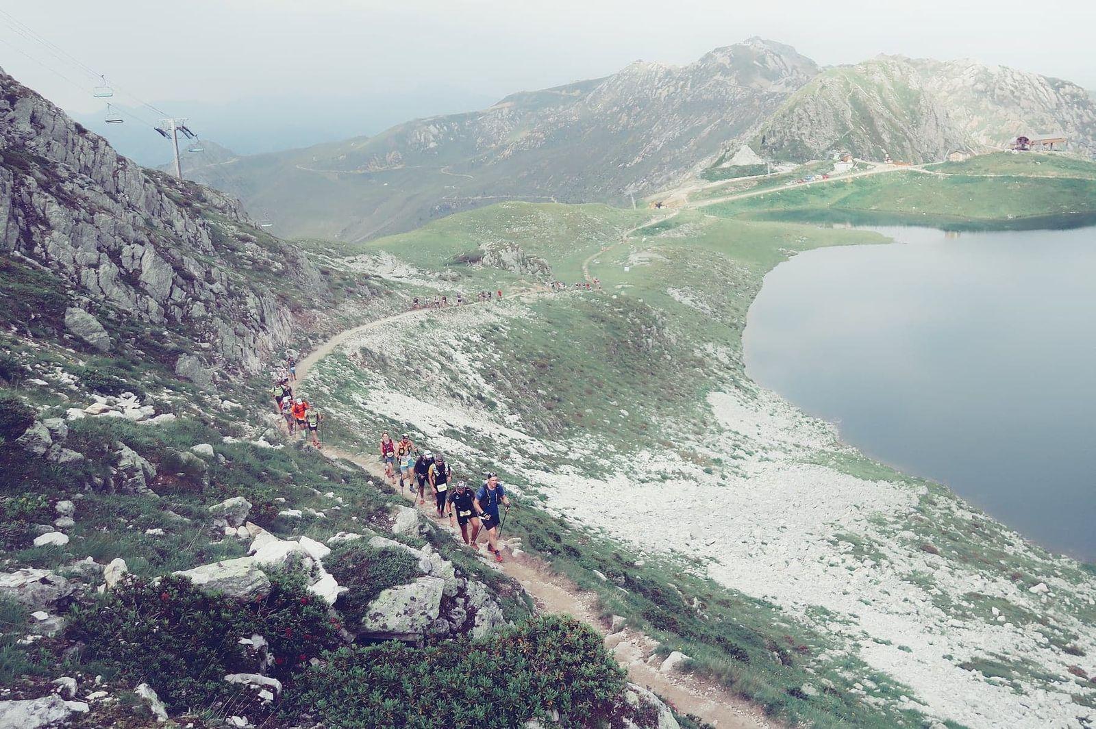 Les lacs. En plus des 65km de la 6000D il y a la 6D Lacs
