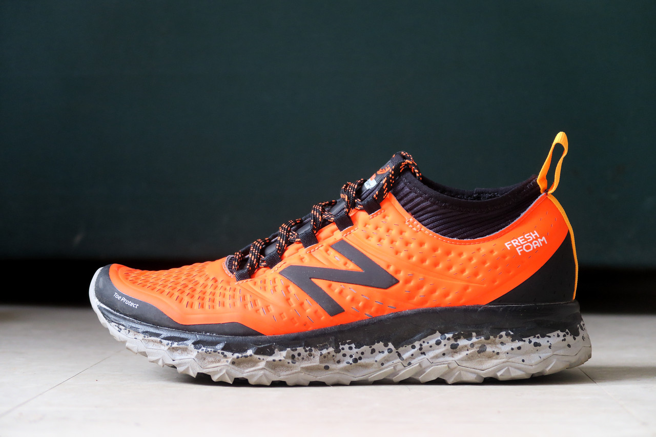 Les NB Fresh Foam Hierro dans sa livrée orange
