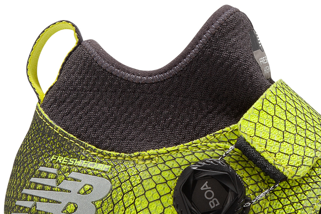 Le chausson protecteur de la New Balance Fresh Foam Hierro Boa