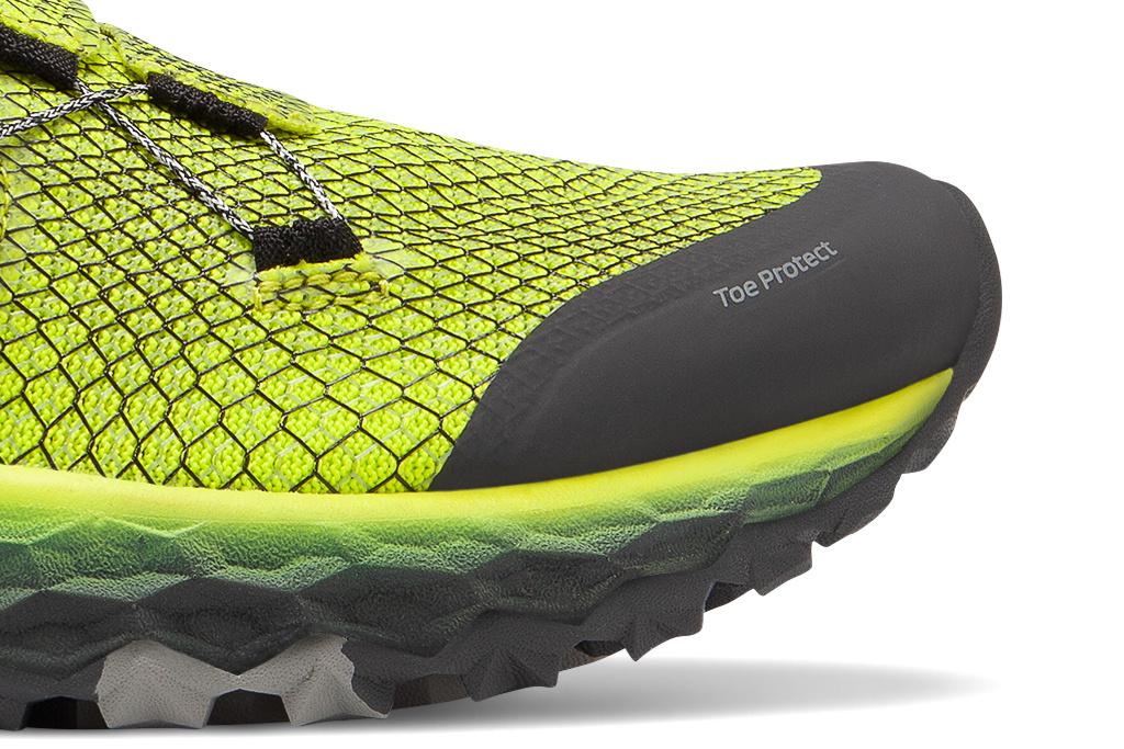 L'avant de la chaussure, le Toe Protect