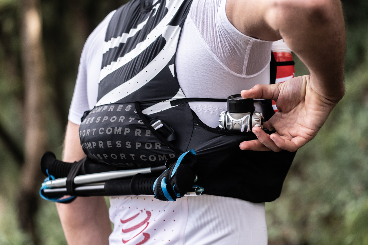 Le Compressport Ultrun S Pack en action
