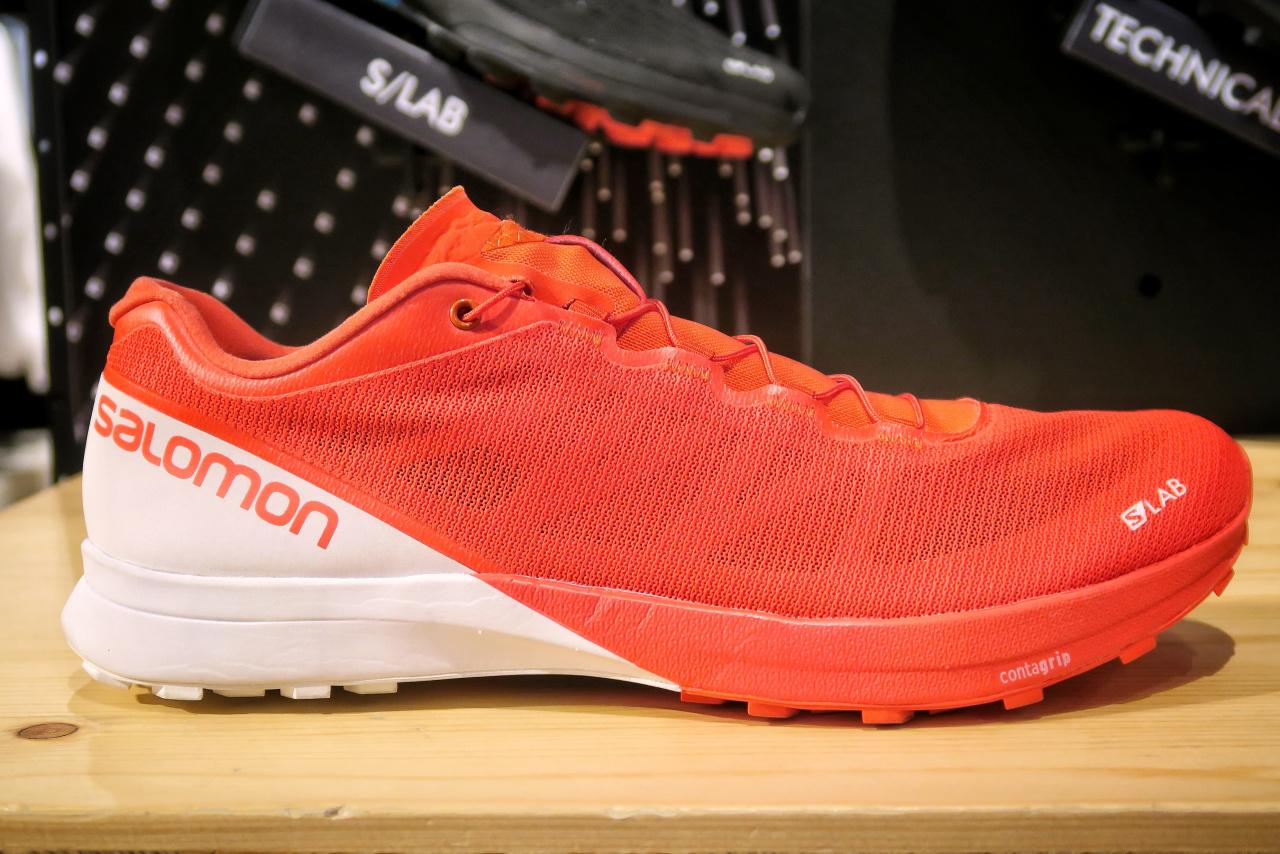 Les Salomon Slab Sense, des chaussures de trail très respirantes