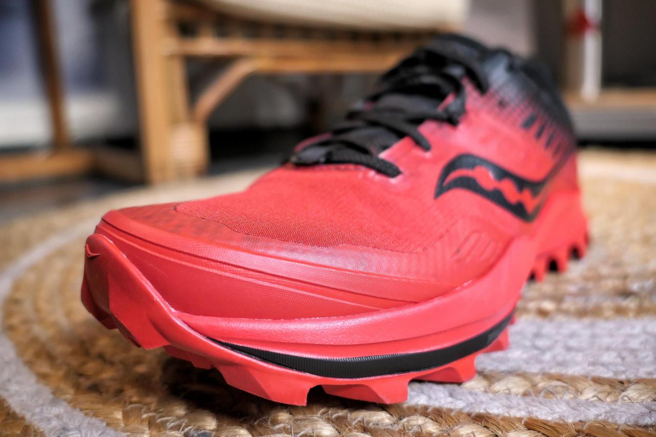 Des chaussures relativement imperméables